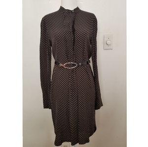 Madewell Popover Polka Dot Dress